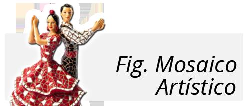 Figuras Mosaico Artístico souvernir