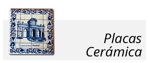 souvenir placa de cerámica