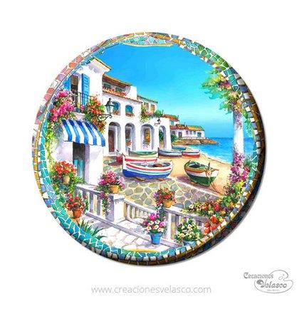 imanes personalizados de ceramica 631-220
