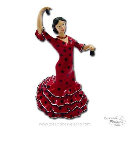 souvenir mosaico artístico flamencas 8334