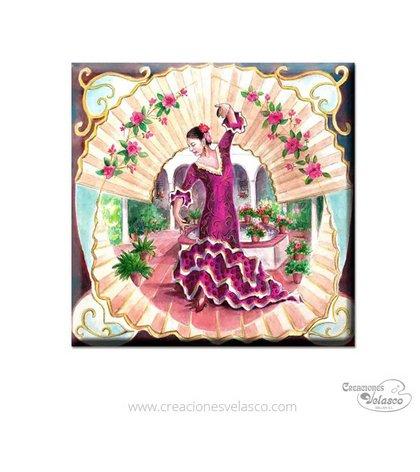 souvenir placas cerámica 9400-131