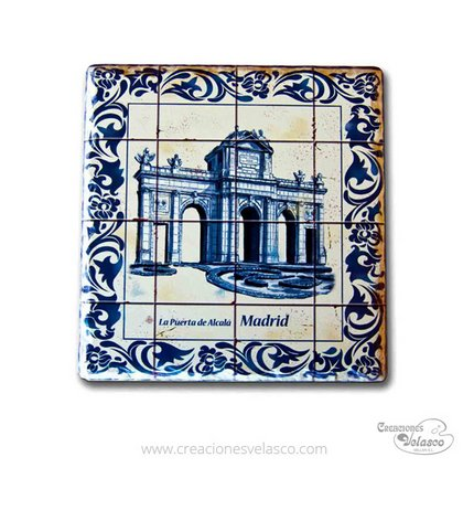 souvenir placas cerámica 9400-48
