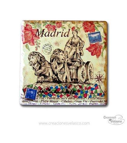 souvenir placas cerámica 9400-9