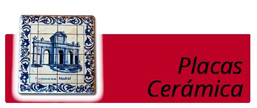 souvernirs placas cerámicas