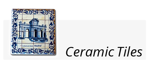 souvernirs ceramic tiles